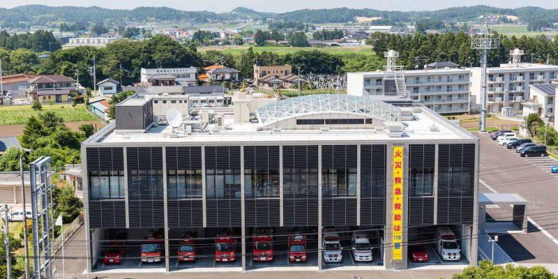بازسازی و طراحی مرکز کنترل بحران سازمان آتش نشانی / معماران تتسو کوبوری + دفتر معماری نیگایاما