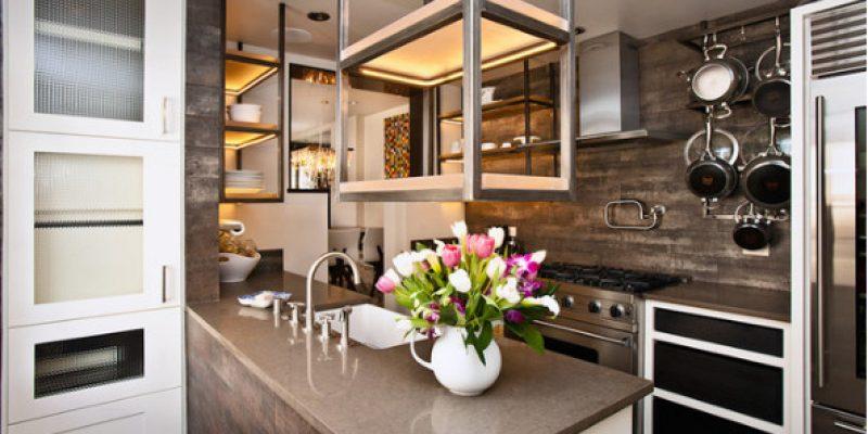 مقایسه مزایا و معایب گرانیت و کوارتز برای کانترتاپ کابینت آشپزخانه