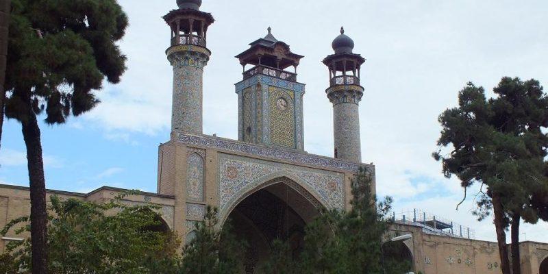 معماری مسجد و مدرسه ی عالی سپهسالار ( شهید مطهری )