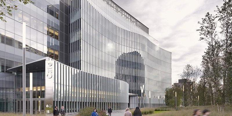 ساختمان مرکز تحقیقاتی علوم پیشرفته CUNY / معماران Flad Architects + KPF