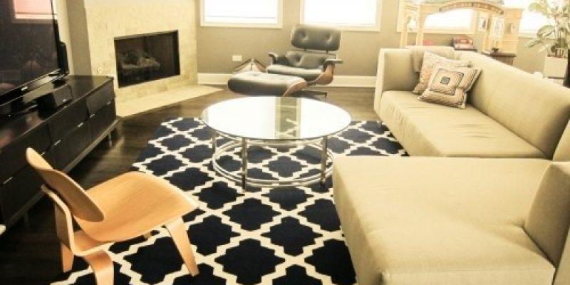 رنگ آمیزی فرش