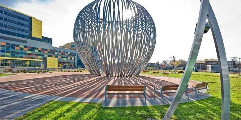طراحی المان شهری مجسمه هارو در مونترال