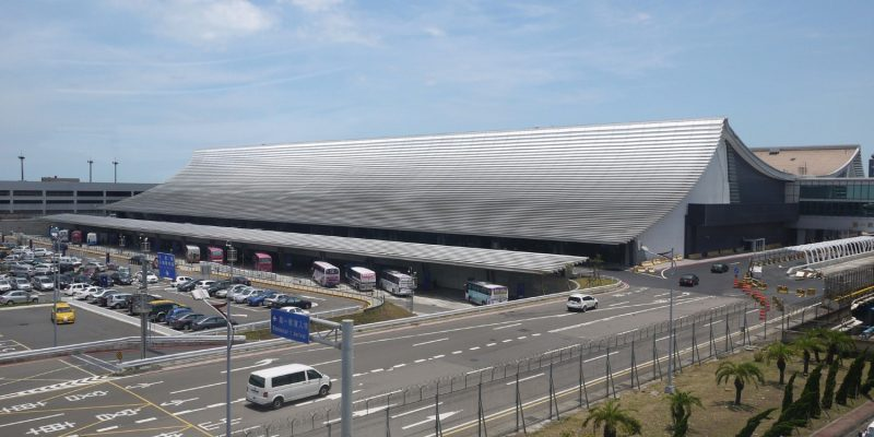 پروژه ی بازسازی ترمینال فرودگاه بین الملی تایوان