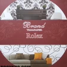 کاغذدیواری رولکس برند ROLEX BRAND