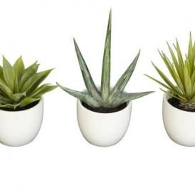 گلدان گیاه مصنوعی سه تایی