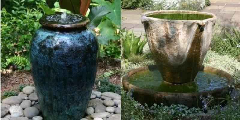 خلاقانه ترین آبنماها برای باغچه و دکوراسیون منزل شما
