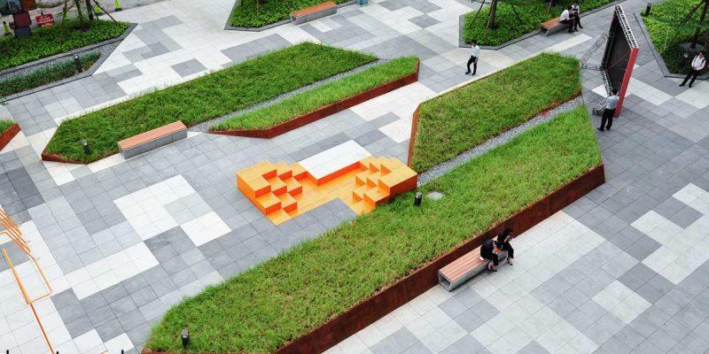 طراحی فضای سبز فاز ۲ ، شهرک وانکه در چین