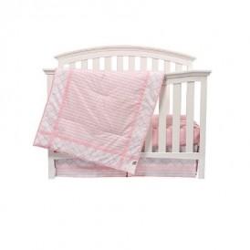 روتختی ۳ تکه تخت نوزاد ، صورتی