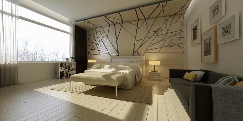 ایده های الهام بخش برای بافت و طرح دیوار اتاق خواب (قسمت اول)