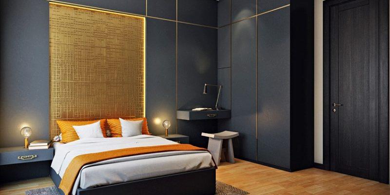 ایده های الهام بخش برای بافت و طرح دیوار اتاق خواب (قسمت دوم)