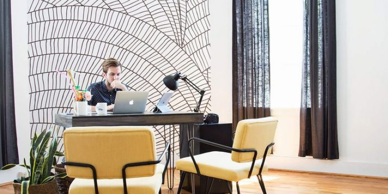 انواع مدل کاغذ دیواری دفتر کار و اداری و زیبایی بیشتر طراحی دکوراسیون