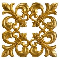 تزئینی پیش ساخته دیواری و سقفی طلایی