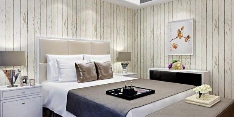 انواع مدل کاغذ دیواری طرح چوب در طراحی دکوراسیون داخلی