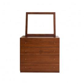 دراور ۴ کشو آینه چوبی نرسی مدل coletto
