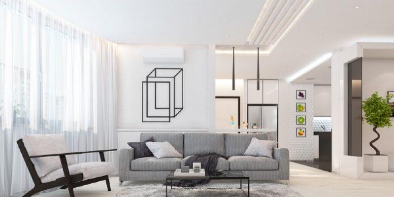 آرامش با رنگ سفید در دکوراسیون داخلی