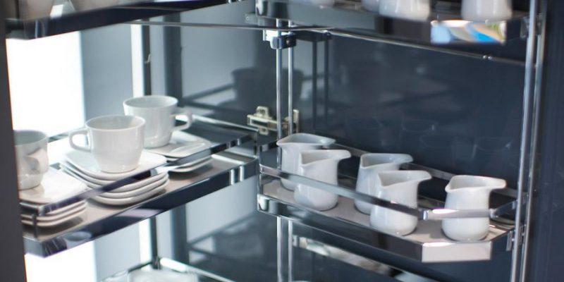 ایده های ساده و کاربردی برای قفسه و سبد سوپری کابینت آشپزخانه