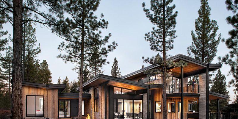 سبک راستیک ، طراحی خانه ای معاصر در دریاچه ی تاهو