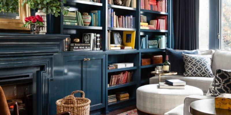 دکوراسیون اتاقهای مطالعه رنگی و پر زرق وبرق