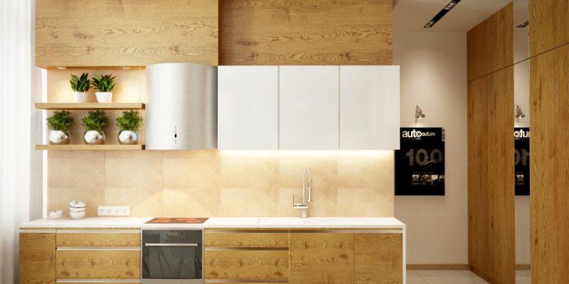۲۵ ایده برای دکوراسیون آشپزخانه های چوبی و سفید (قسمت دوم)