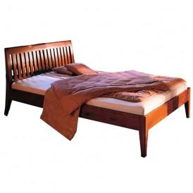 تخت خواب دو نفره چوبی مدل Merlito