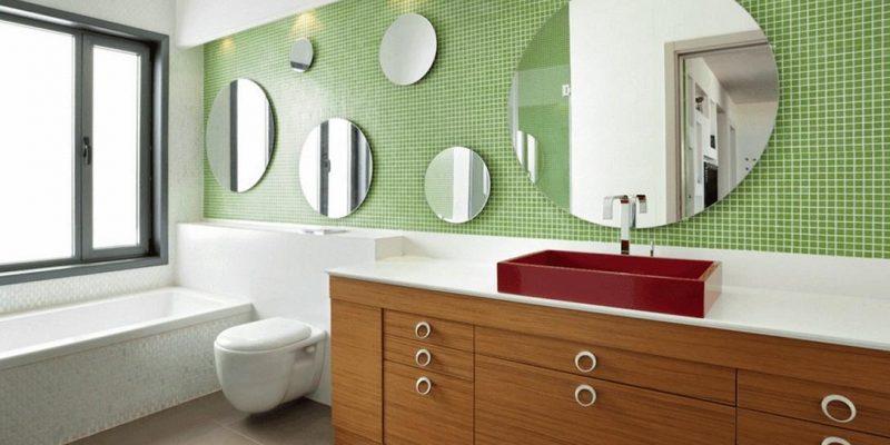 چند ایده مختلف از آینه حمام
