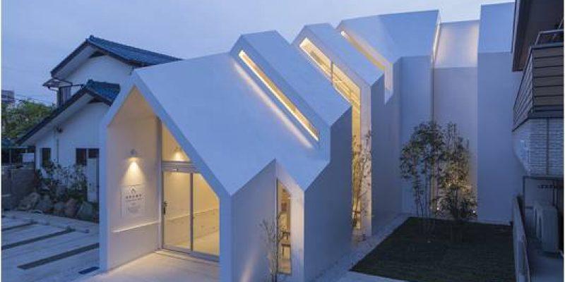 کلینیکی با معماری زیبا در ژاپن