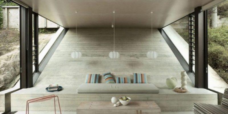 بتن در معماری داخلی