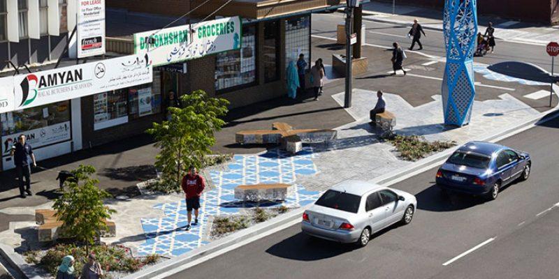 طراحی شهری–حوزه ی بازار فرهنگی افغانستان در کشور استرالیا
