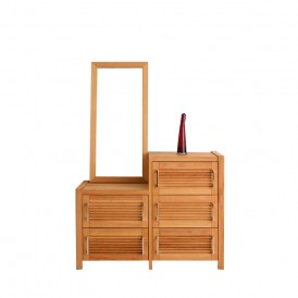 میز آرایش چوبی نرسی مدل scarista