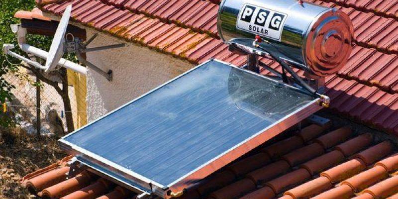 آبگرمکن خورشیدی در خانه