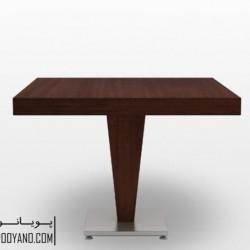 میز غذاخوری جهانتاب مدل: ۱۰۲۷WS
