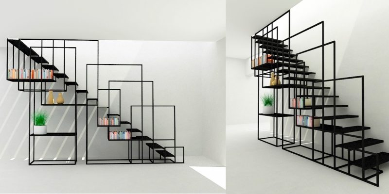 طراحی چند راه پله منحصر به فرد به عنوان یک مرکز توجه فوق العاده طراحی داخلی مدرن (قسمت اول)