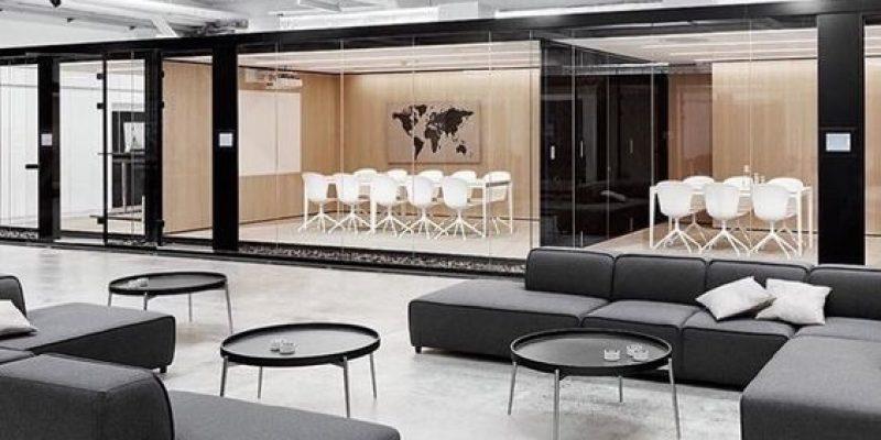 متدهای طراحی دکوراسیون دفاتر کار مدرن