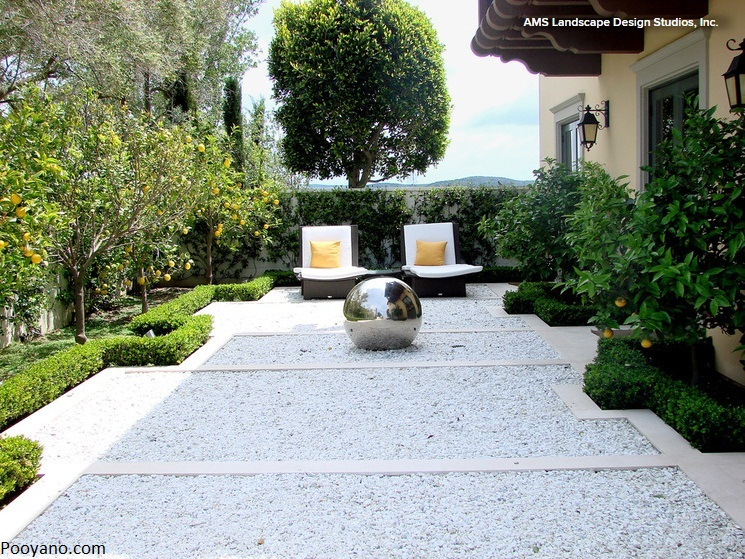 باغ های رسمی و هندسی