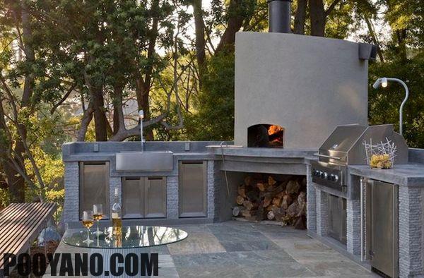 سایت پویانو-آشپزخانه در فضای باز