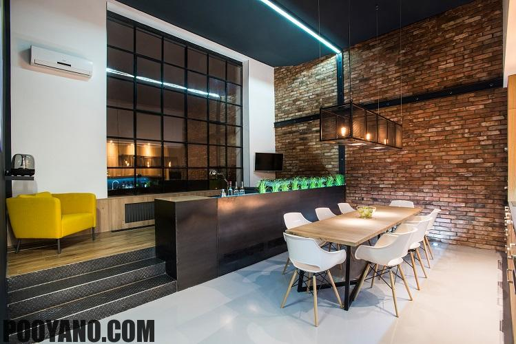 سایت پویانو-معماری داخلی استودیو لافت