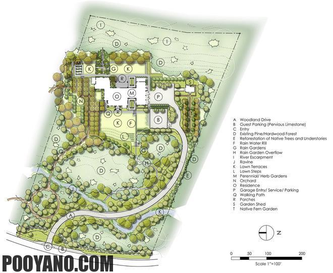 سایت پویانو-معمار لنداسکیپ