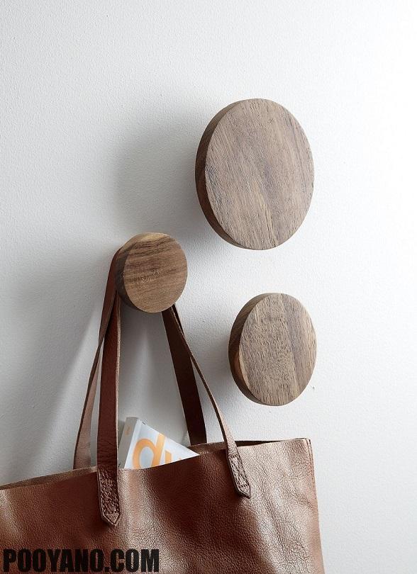 قیمت چوب لباسی دیواری