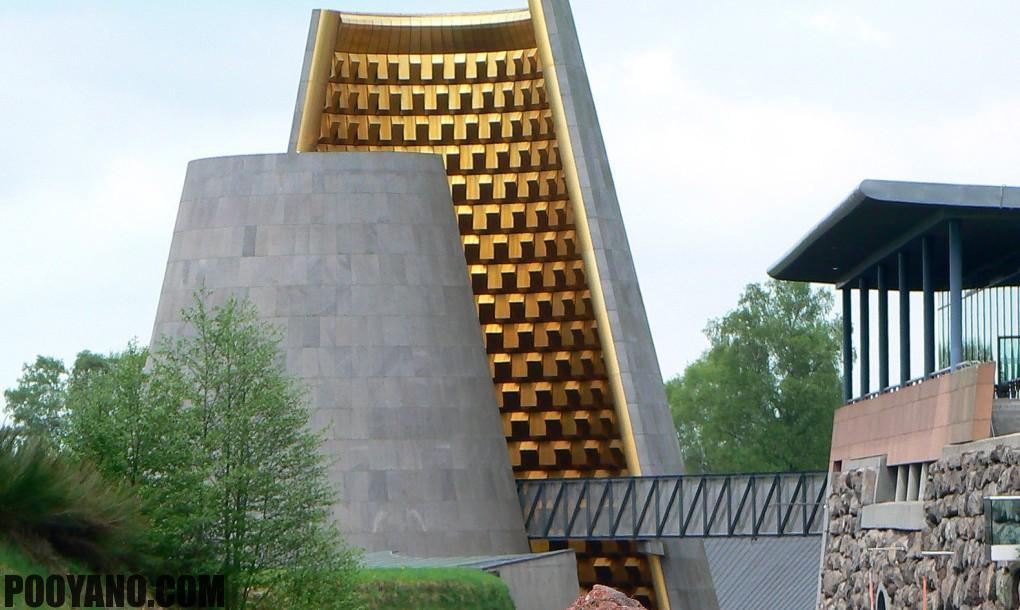 طراحی معماری پارک موزه Volcano