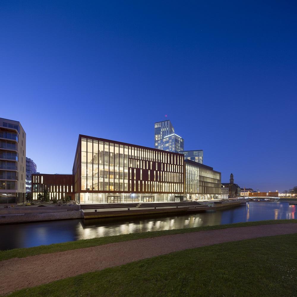 ساختمان کنسرت Malmö Live