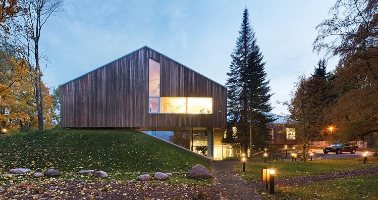 معماری خانه طبیعت در تارتو