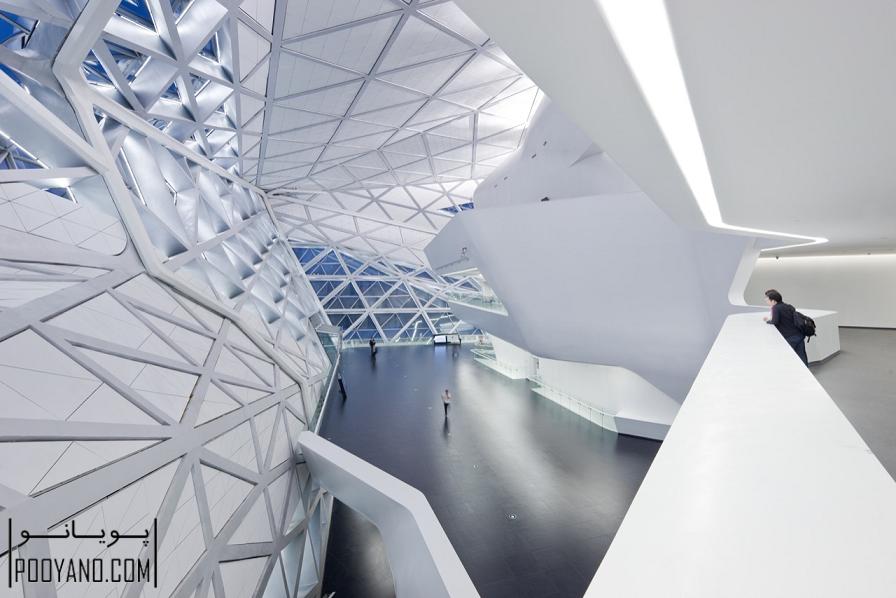 خانه اپرای گوانگژو/ دفتر معماری زاها حدید