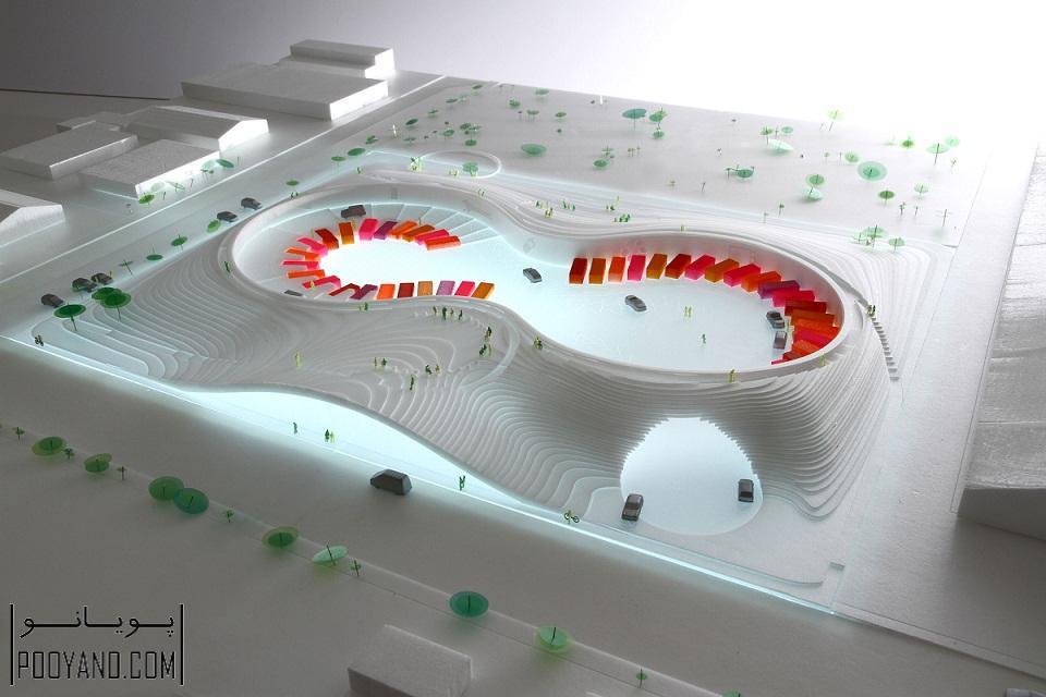 طراحی و معماری مرکز بازیافت