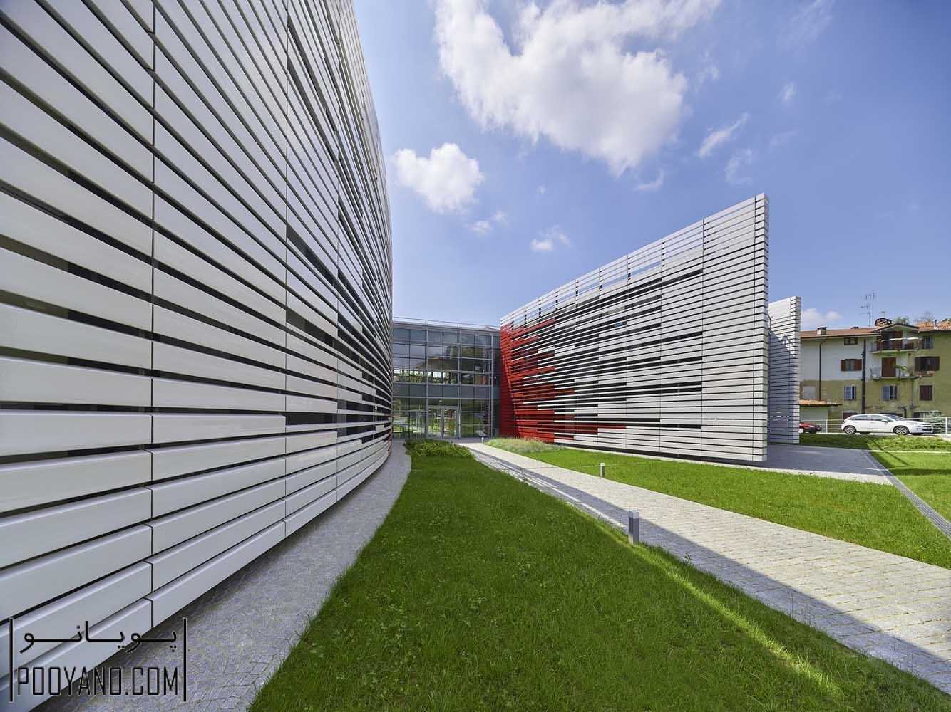 طراحی ساختمان مرکز درمانی اسپاجو لیلت (Spazio Lilt) / شرکت معماری اتاویو دی بلازی و همکاران