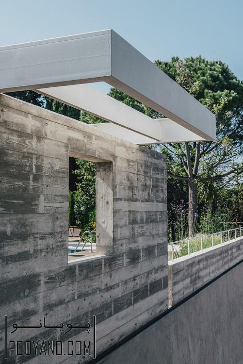 8 طراحی استخر در ویلا ؛ شرکت معماری MESURA ؛ طراحی استخر خانگی در اسپانیا