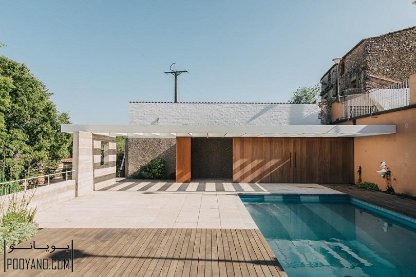 طراحی استخر در ویلا ؛ شرکت معماری MESURA ؛ طراحی استخر خانگی در اسپانیا