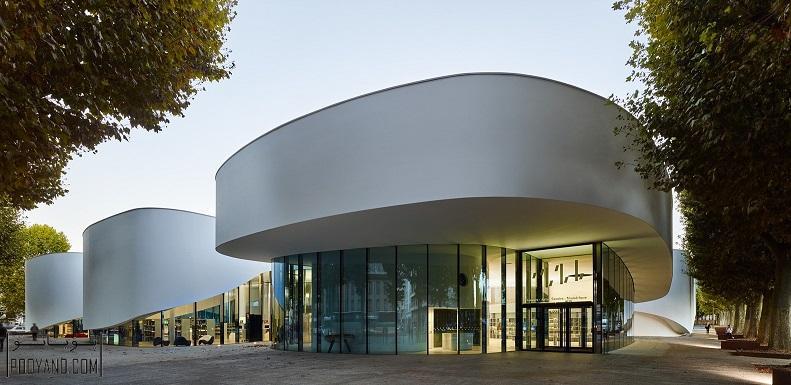 طراحی کتابخانه دیجیتال در تیونویل فرانسه / شرکت معماری Dominique Coulon
