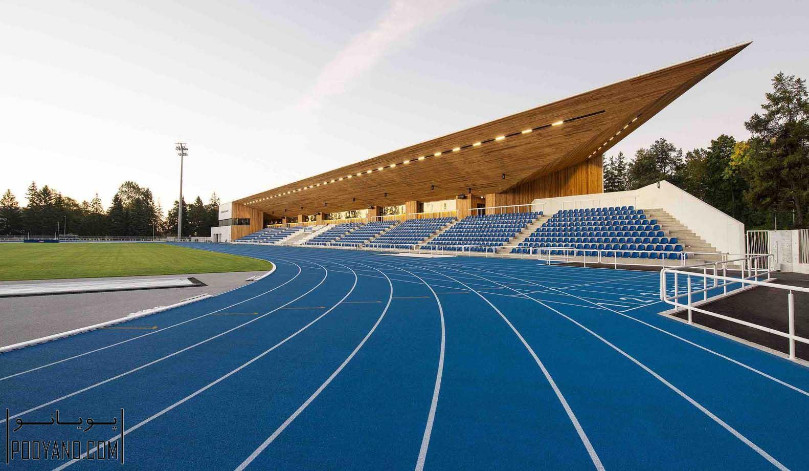 طراحی استادیوم ورزشی پارنو ، شرکت معماری کمپ