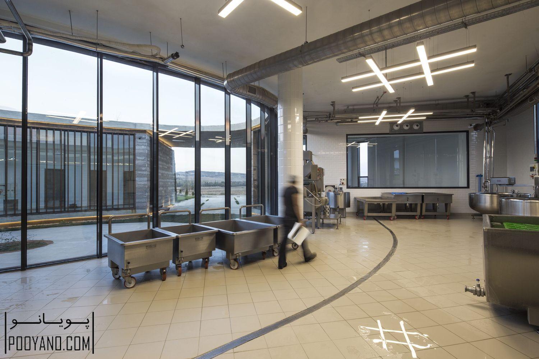10 طراحی کارخانه تولیدی لبنیات 38 درجه 30 درجه ؛ شرکت های معماری Slash + Arkizon