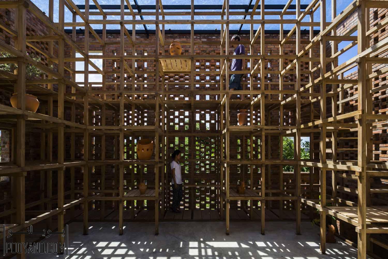طراحی کارگاه سفال / شرکت معماری Terra Cotta